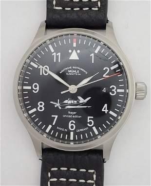 Limited Edition M13740 Muhle Glashutte AOPA Pilots Watc