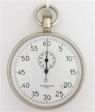 Hermann Bark Kiel Kriegmarine Timer Stopwatch