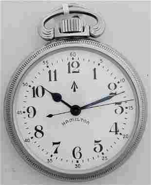 Hamilton 3992B Military Pocket Watch