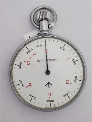 Nero Lemania Range Finder WWII Stop Watch