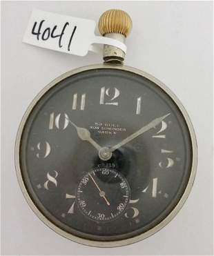 Doxa WWI British Royal Flying Corps Pocket Watch
