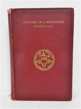History Of Uniontown County History PA w Prov