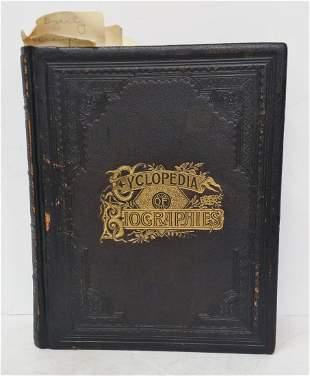 Cyclopedia Of Biographies County History PA w Prov