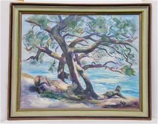 Aretta Crowley FL Artist 5 of 10 Safety Harbor Painting