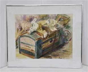 Aretta Crowley FL Artist 4 of 10 Memories Watercolor