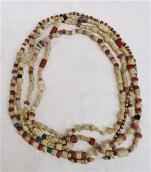 Antique Native American Elaborate Shell Wampum Beads