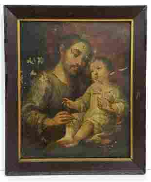 Miguel Carbrera Spanish Colonial Christ