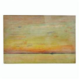 Oil On Panel By Frederick Childe Hassam Isles Of Shoals