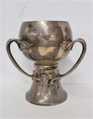 Heavy 1921 Golf Trophy TYG 49ozt Irish Arts Crafts