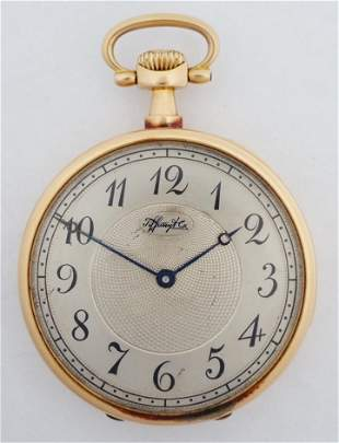 Antique Patek Philippe Tiffany 18k Gold Repeater Watch