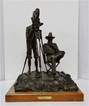 Rare Hollywood Cody Houston Bronze Sculpture