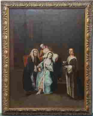 Sothebys After Longhi Doctor Painting