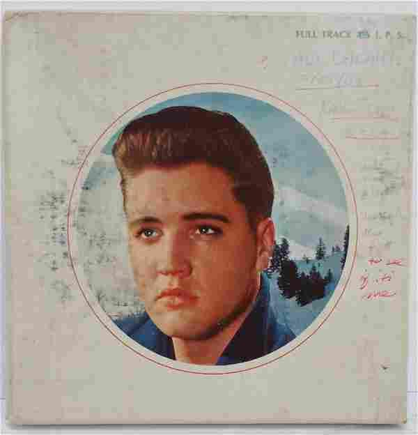 Elvis Presley Christmas Special Reel to Reel Radio Copy