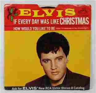 Elvis Presley RCA Radio Christmas Special 45 Record