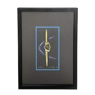 5 Arbib Paintings Hamilton Electric Watches