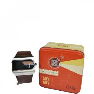Fossil Watch JR-9121 Analog Digital MCM Collection