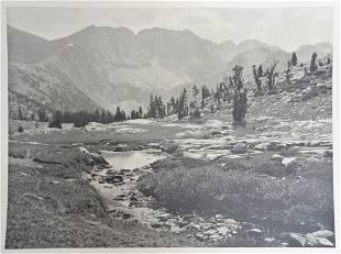 William Dassonville High Sierra Photograph