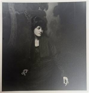 William Dassonville Portrait Photograph Woman