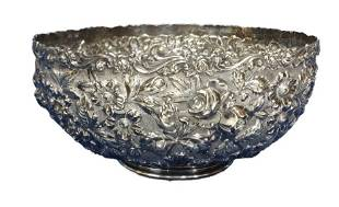 Sterling Silver Schofield Baltimore Rose Bowl 15.90ozt