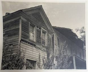 William Dassonville Marin County House Photograph