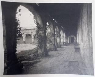 William Dassonville Mission Courtyard California Photo