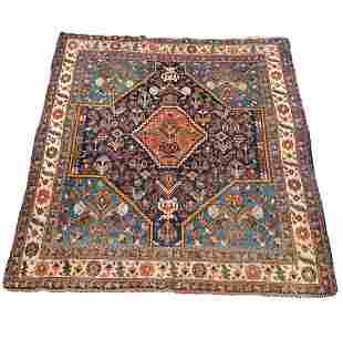 Deep Red Persian Carpet Oriental Rug 75in x 59in