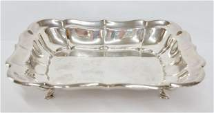 Cartier Signed Sterling Silver Nut Dish 4.84ozt
