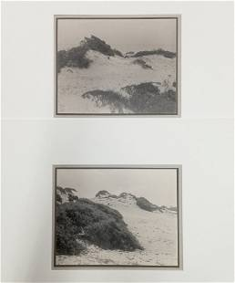 William Dassonville Sand Dunes Photographs Lot 2