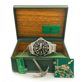 """""""The Great Pumpkin"""" Rolex Tropical Dial Red Submariner"""