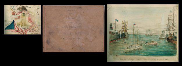 Capt. John J Bertoncini Illus Arctic Whaling Ship's