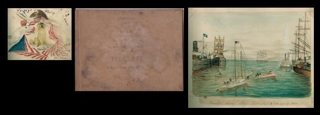 20: Capt. John J Bertoncini Illus Arctic Whaling Ship's