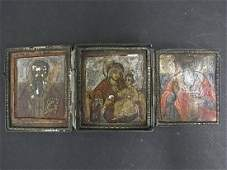 95: Byzantine Greek Russian Orthodox Icon Collection 16