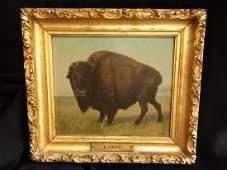 148: William Jacob Hays, Sr. 1862 Buffalo Western Paint