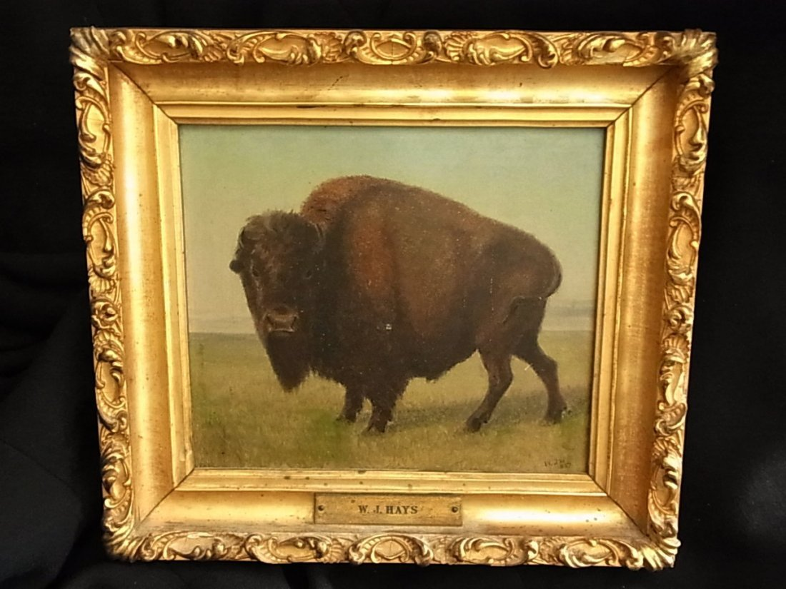 148: William Jacob Hays, Sr. 1862 Buffalo Western Paint