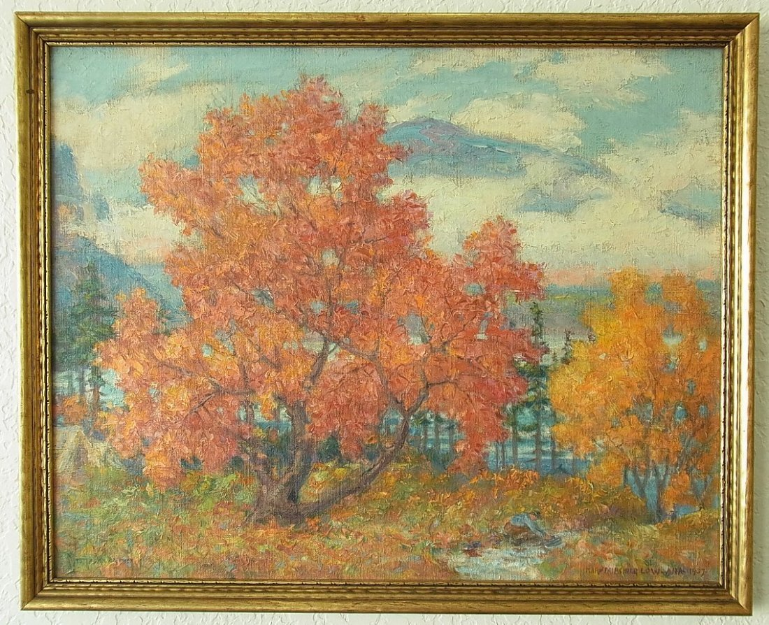 2: Mary Louise Fairchild Low ANA Lg Autumn Impressionis