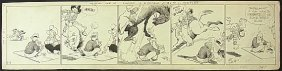 1: Art Huhta, Mescal Ike, 1937 comic strip Cowboy art N