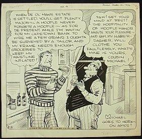 4: Ahern, Gene large comic strip Major Hoople 1936