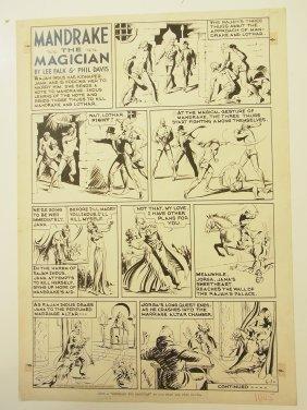 5: Davis Phil and Falk, Lee, artist, Mandrake the Magic