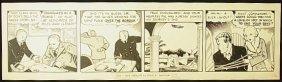 13: Beroth, Leon A. Don Winslow comic strip, 1936, Exhi