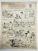 15: Hogarth, Burne Tarzan, Sunday comic strip, NY, Sini