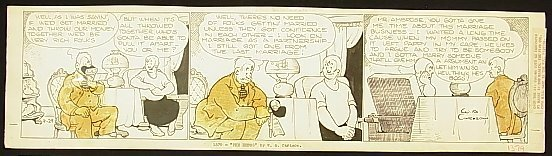 19: Carlson, W. A. The Hebbs. Comic strip, California a