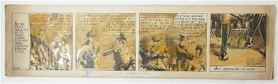 25: Moore, Ray The Phantom, comic strip, 1936, original