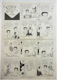 30: Max Fleischer, original Betty Boop, Sunday comic st