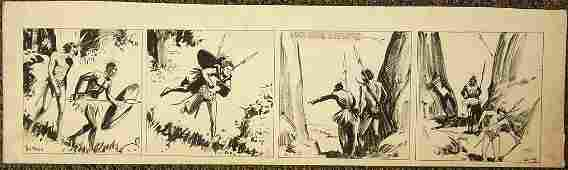 98: Maxon, Rex Tarzan, comic strip, Edgar Rice Burrough