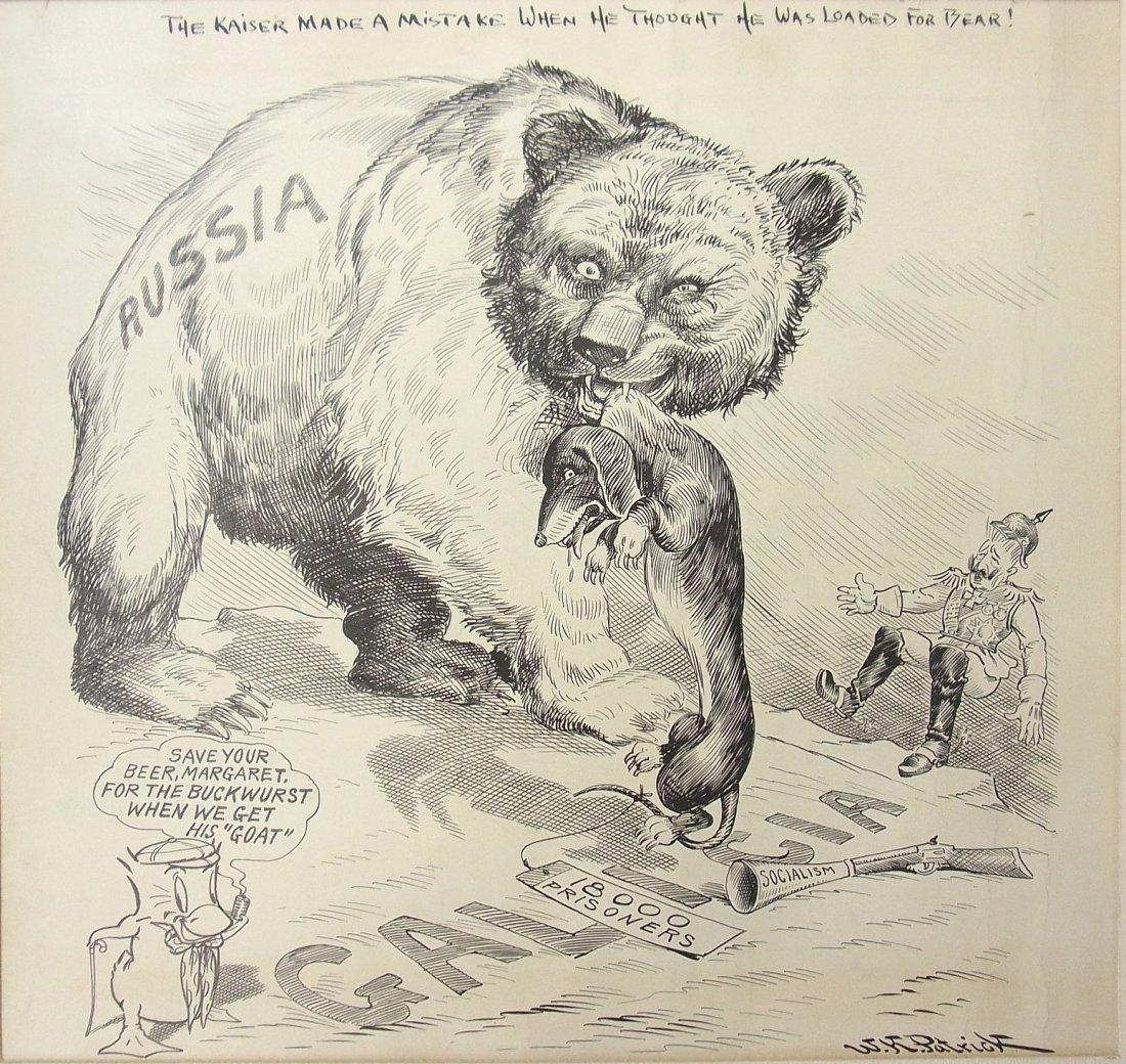 10: William K. Patrick Listed Artist Circa 1917 New Orl