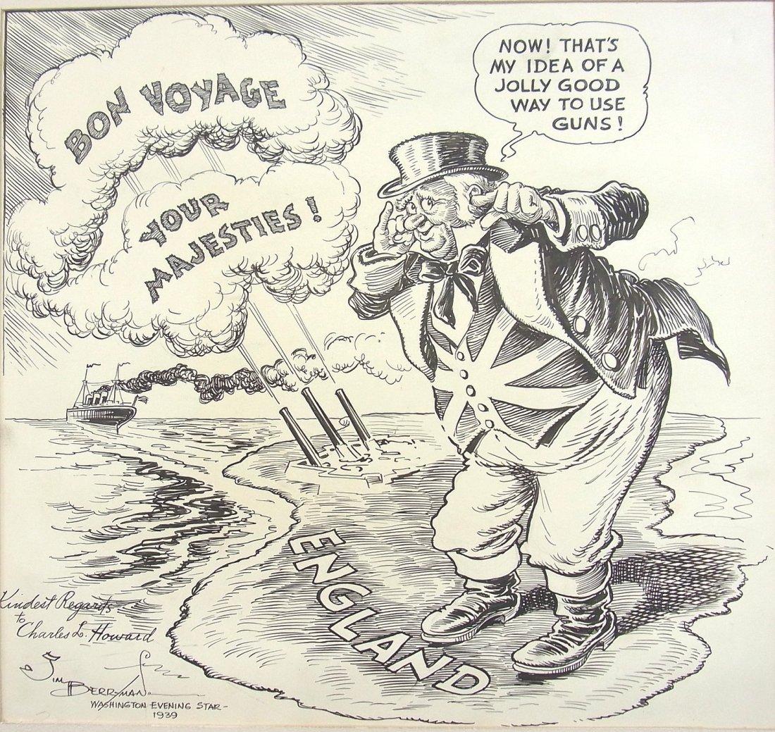 25: James Berryman 1939 Listed Artist Washington Evenin