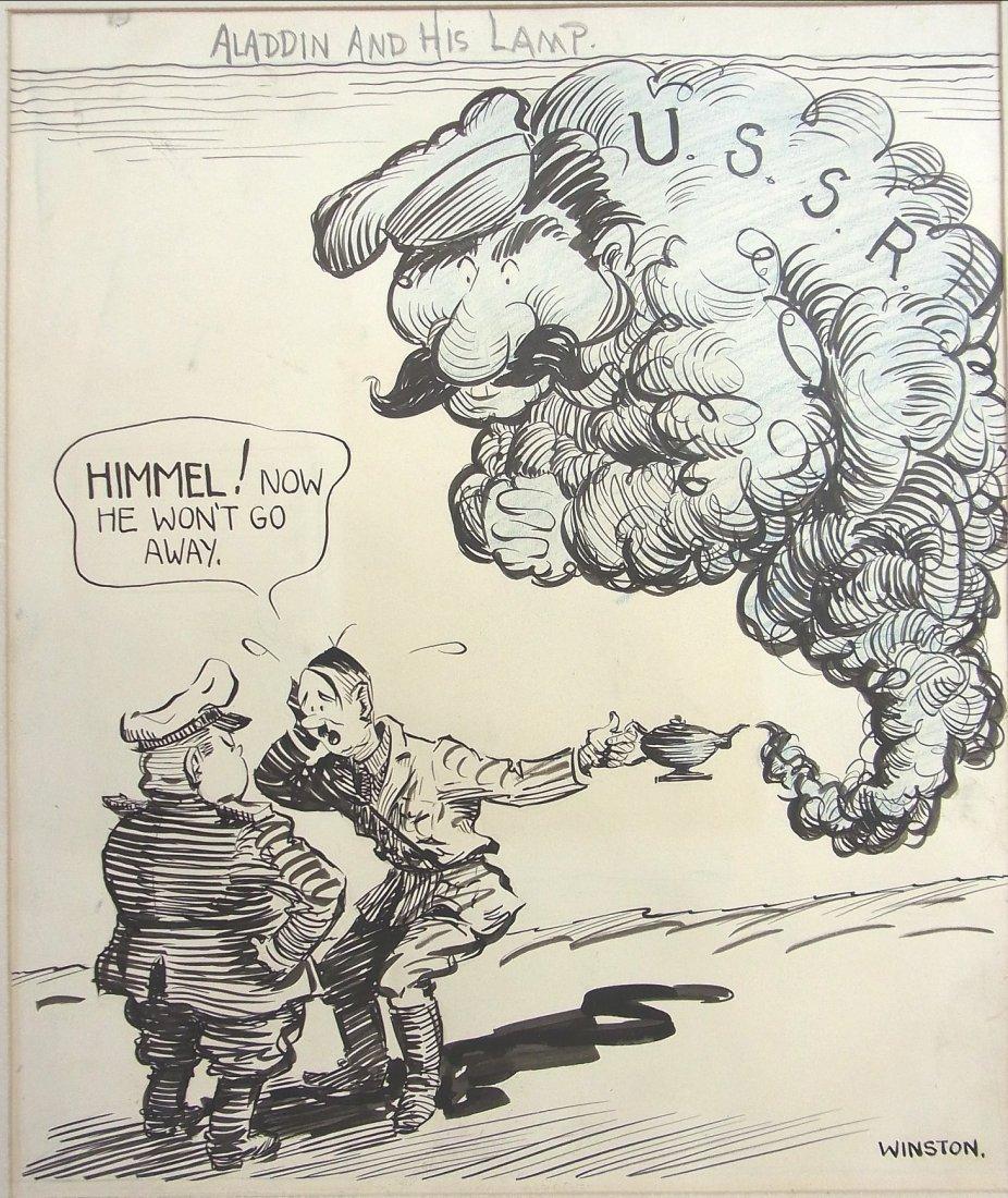 30: Glen Winston Famed Chicago Daily News Artist Depict