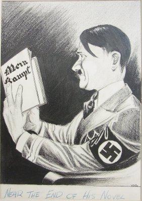 William O�Brien Depiction Circa 1945 Hitler Nearing