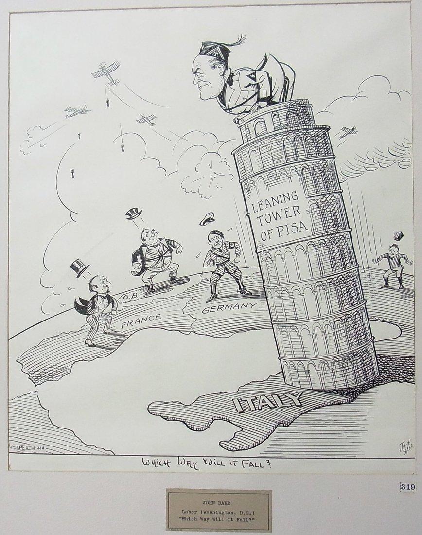 2: Baer, John Maryland 1940 Washington DC Exhibited Hit