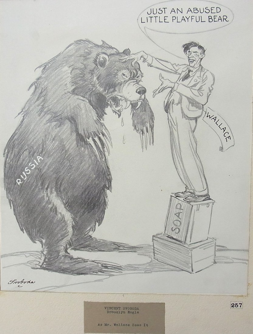 9: Svoboda, Vincent Brooklyn Eagle Russian Bear As Mr.
